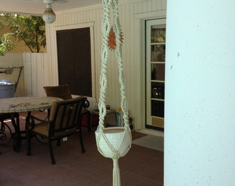 Macrame Plant Hanger Touch of Lace