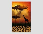 African Landscape Pattern, African Cross Stitch, African Pattern, Africa, Africa Pattern by NewYorkNeedleworks on Etsy