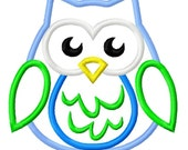 Digitizing Dolls Owl 3 Applique Embroidery Design 4x4 5x7 6x10 Fall Euro INSTANT DOWNLOAD