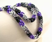 Love is Enough Braid Chainmaille Necklace