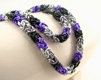 30% OFF SALE Love is Enough Braid Chainmaille Necklace