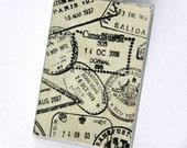 PASSPORT COVER - Passport Stamps. Passport Holder, Passport Case, Travel Wallet, Travel Lover, Travel Gift Idea, Graduation Gift