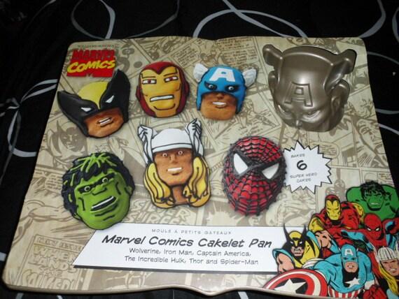 Marvel Comic Cake Pan