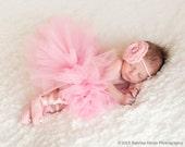 Paris Pink Baby Tutu Newborn 0-6 months 6-12 months 12-24 months 3-4T