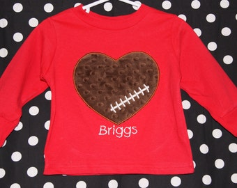 Valentines Day Football Shirt