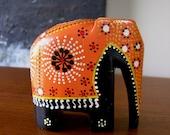 Vintage Travel Souvenir Ceylon Elephant
