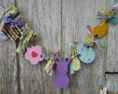 Spring Easter Garland, Made To Order