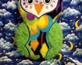 Mod Hooty Owl Softie