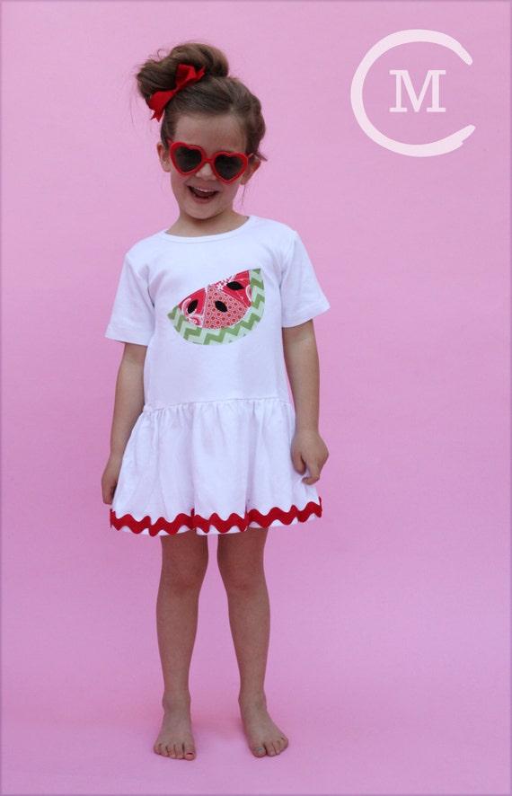 watermelon dress toddler