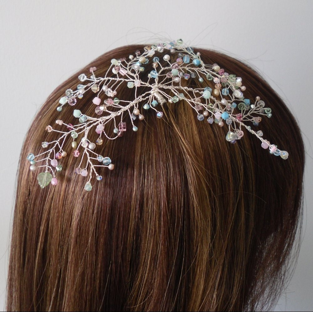 Shop our collection of beautiful wedding hair accessories and find a truly unique hair piece to wear on your wedding day. homepage > weddings > styling your day > wedding fashion > bridal hairpieces. Set Of Three Rhinestone Cluster Hair Grips. Spray Wedding Hair Pin.