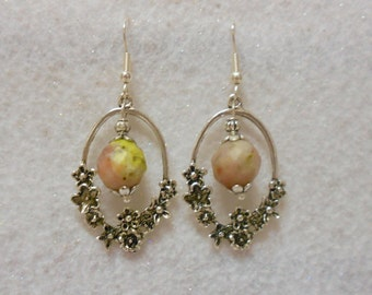 Lepidolite Gemstone Earrings