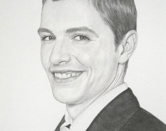 Dave Franco celebrity drawing pencil portrait