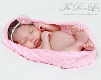Baby Flower Halo, Newborn Halo, Lollipop Flower Baby Halo, Photography Prop, Newborn Photo Prop