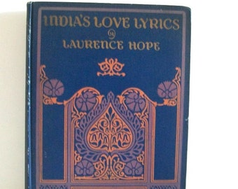 India's Love Lyrics Including Garden of Kama