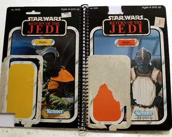 Klaatu Vintage Star Wars Return of the Jedi Notebook/Journal