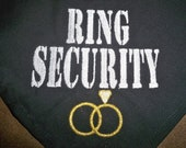 Ring Security Dog Bandana for Weddings