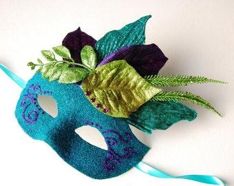 MASK- Roulez- masquerade mask, Mardi Gras, ballroom, prom, fairy, Venetian, Halloween