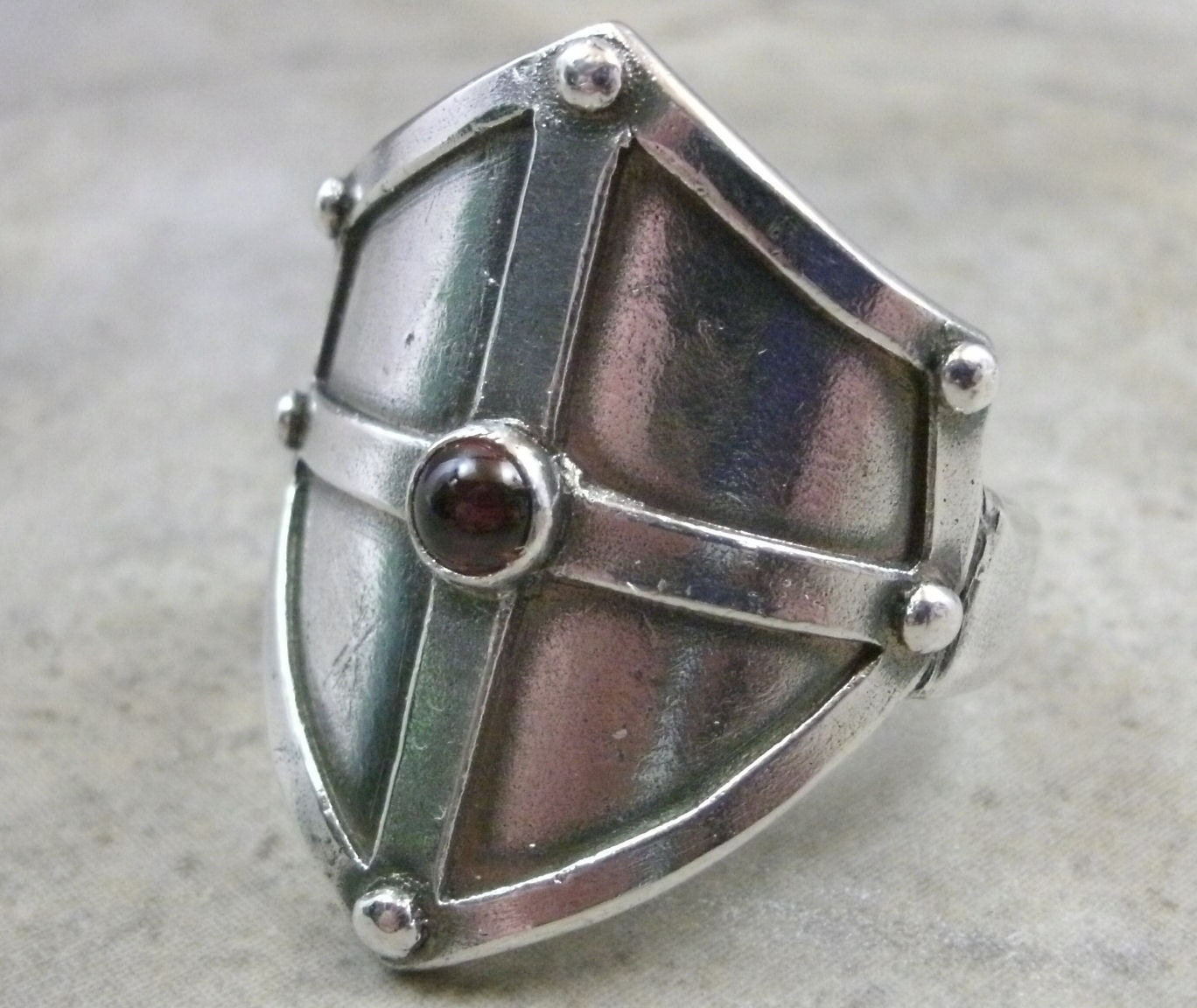 Shield Metal Ring
