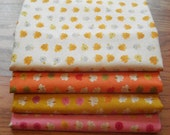 Heather Ross Far Far Away 2 - ROSES - FQ bundle (4 Rose prints)