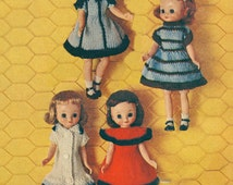 Vintage Betsy McCall Doll Clothes Knitting Pattern PDF Instant Download
