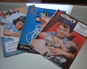 Reserved for Vivian Weaver Collier's Magazines Various Issues 1939-1949