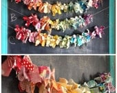 Choose your Color Combo Scrappy Garland- 2ft-5ft