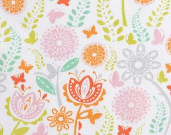 Spring Flower Field - Pastel - 1 yard