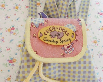 Cuca Dols Backpack.80s. Cute Small Size