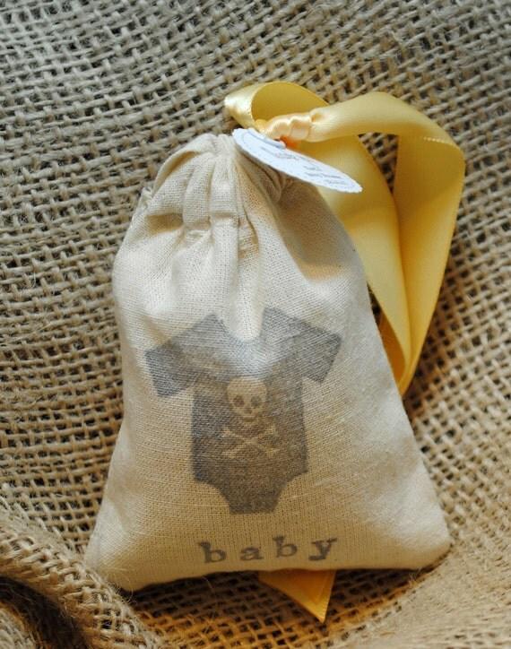 ROCK N  ROLL ONESIE Sachet Bags / Baby Shower Favors