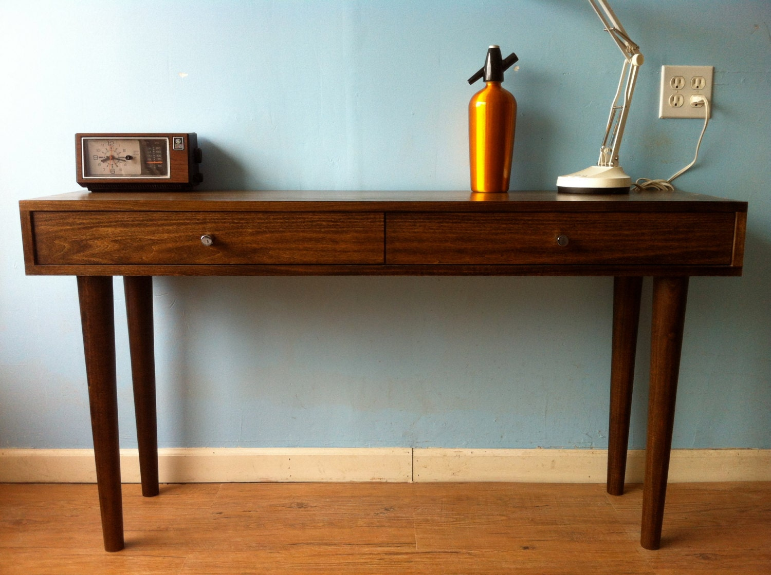 Danish Modern Console Table By STORnewyork On Etsy