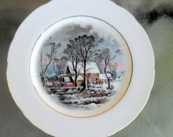 Avon, Vintage Avon, Avon Plate, 1977 Avon Plate, Vintage Plate, Plate