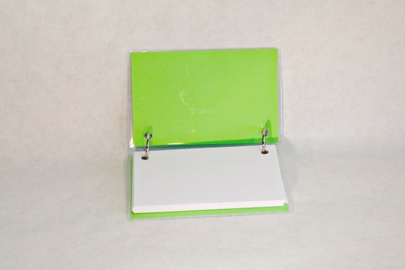 note card laminated binder 4 x 6 laminated index card by