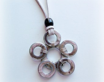 Flower Washer Necklace