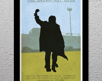 The Breakfast Club - Original Limited Edition Art Print Poster - Judd Nelson - Molly Ringwold