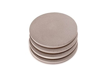 Concrete Coasters. Refined Coasters. Round Coasters