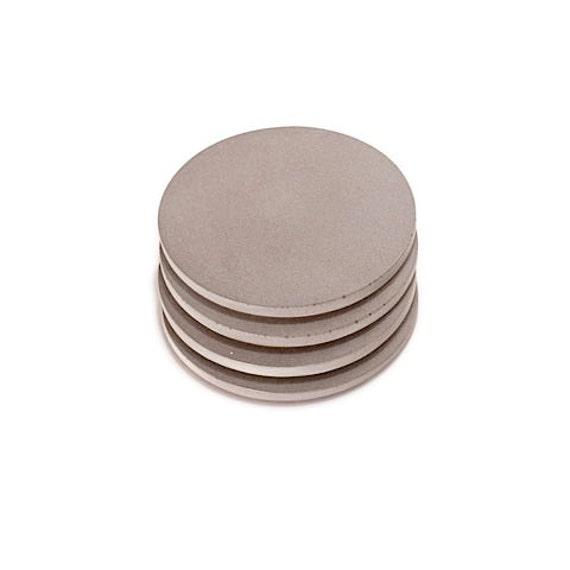 Concrete Coasters. Refined Coasters. Round Coasters