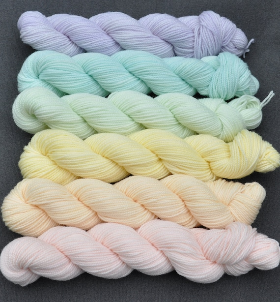 Pastel Color Wheel Yarn Set