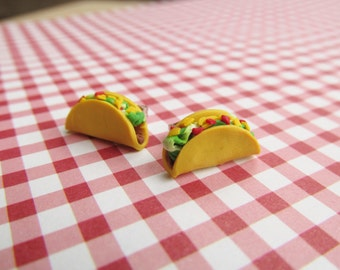 Fun Food Earrings... Tacos