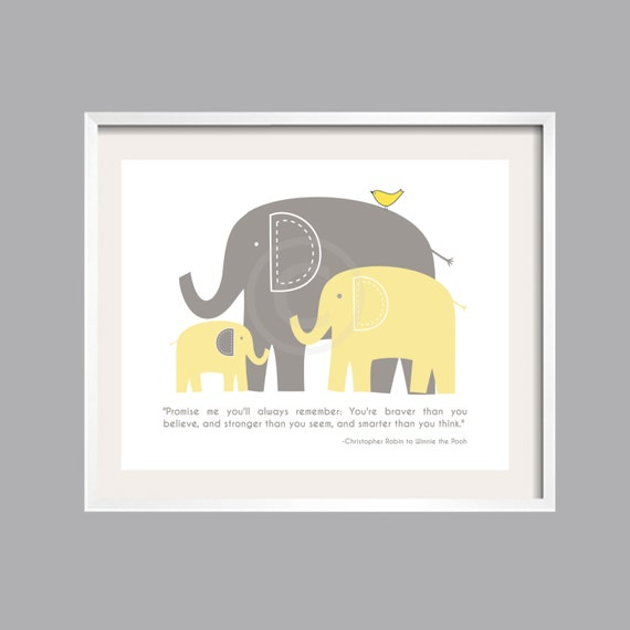 Always Remember Print Wall Art Inspirational You Are Braver