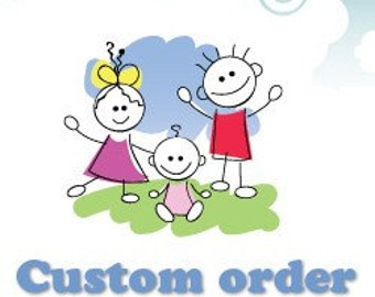 custom item order for Maria