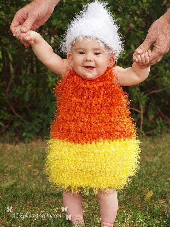Items similar to 9-12 months candy corn costume on Etsy