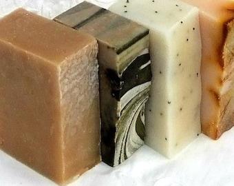 You Choose 4 Natural  Honey Soaps Traditional Men Women UK seller
