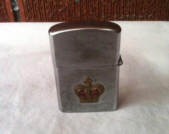 """Vintage Crown """"Front"""" Lighter"""