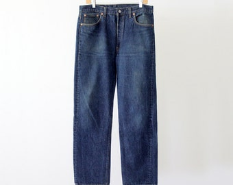 vintage Levi's 501xx denim jeans, waist 34