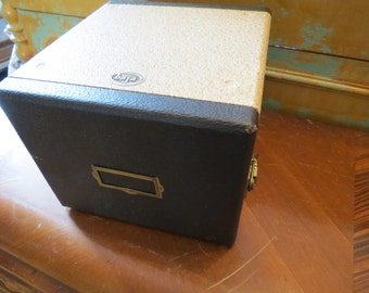 Barnett Jaffe Slide Box Storage Case.
