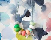 Mitzi handmade bead necklace