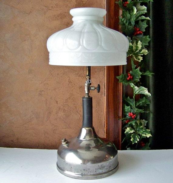 Antique Coleman Quick Lite Gas Lamp 1920s Gas Lantern