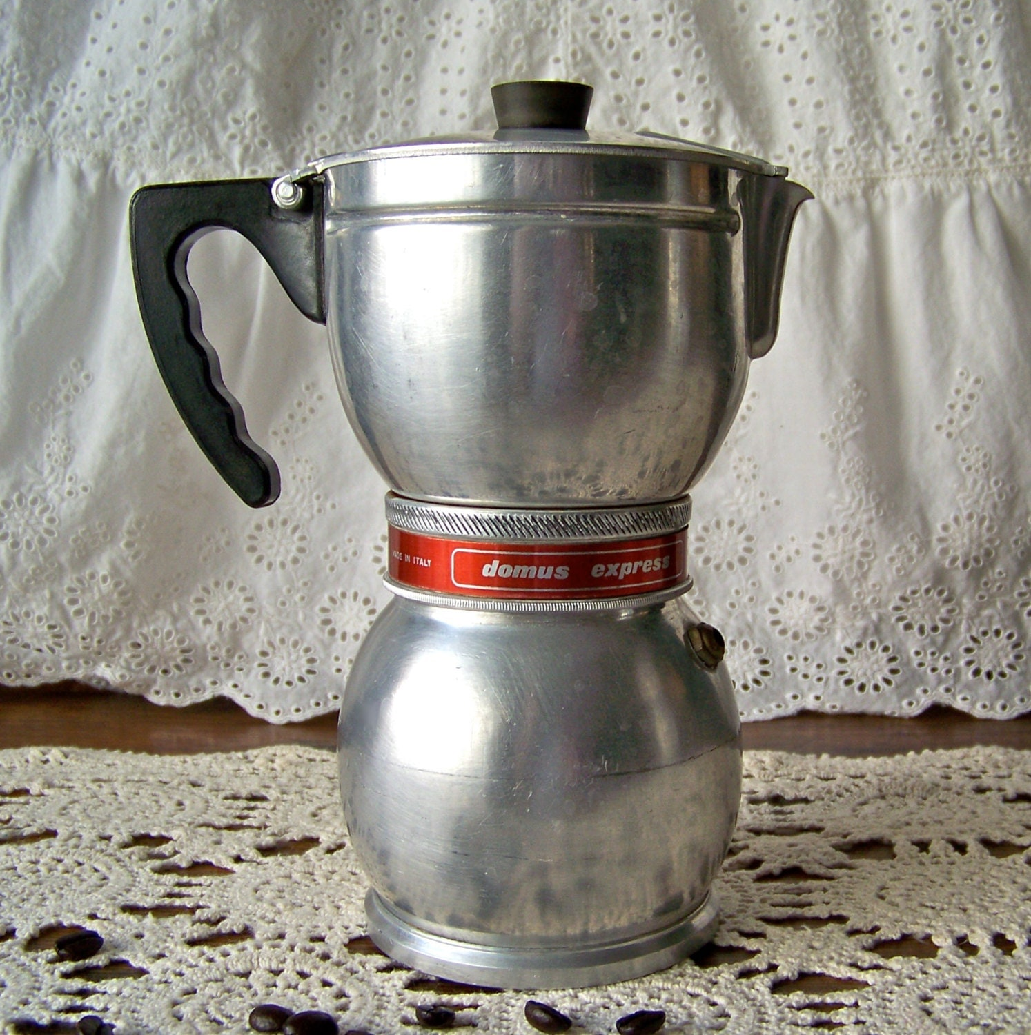Antique Italian Coffee Maker : Vintage Coffee Maker Domus Express Brevettata Italy