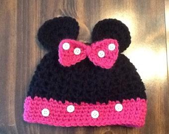Baby Minnie Hat