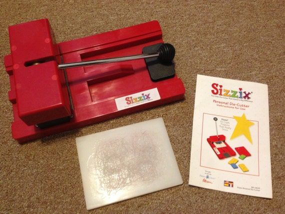 Sizzix machine paper craft die cutting by dreamabetterworld for Craft die cutting machine